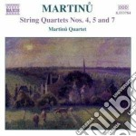 Quartetti per archi (integrale) vol.3 cd musicale di Bohuslav Martinu