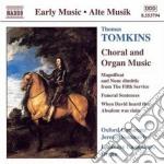 Musica corale e organstica cd musicale di Thomas Tomkins