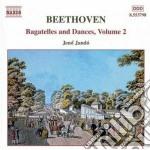 Bagatelle e danze vol.2: fantasia op.77, cd musicale di Beethoven ludwig van