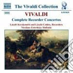 Concerti per flauto a becco (integrale) cd musicale di Antonio Vivaldi