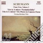 Piano trios vol.2 0 cd musicale di SCHUMANN