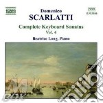 Keyboard sonatas vol.4 cd musicale di SCARLATTI