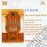 The great organ works cd musicale di Johann Sebastian Bach