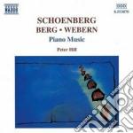 Opere x pf: 3 pezzi op.11, 6 piccoli pez cd musicale di Arnold Schoenberg