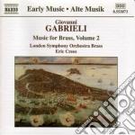Music for brass vol.2 cd musicale di GABRIELI