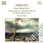 Piano music vol.1 cd musicale di SIBELIUS