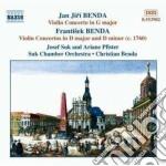 Concerti x vl (integrale) vol.1: concert cd musicale di Frantisek Benda