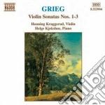 Sonate x vl e pf nn. 1, 2, 3 cd musicale di Edvard Grieg