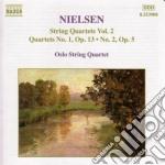 Quartetti x archi (integrale) vol.2: qua cd musicale di Carl Nielsen