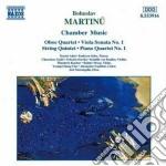 Quartetto con pf n.1, quartetto x ob,vl, cd musicale di Bohuslav Martinu