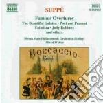 Ouverture celebri: la bella galatea, fat cd musicale di Suppe' franz von