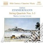 String quartets nos.1&3 cd musicale di ZIMMERMANN