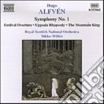 Sinfonia n.1, rapsodia di uppsala, berga cd musicale di Hugo AlfvÉn