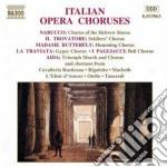 Cori da opere italiane cd musicale