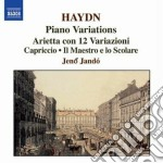 Variazioni per pianoforte cd musicale di Haydn franz joseph
