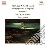 String quartets v.6 cd musicale di SHOSTAKOVICH
