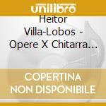 Complete music for solo cd musicale di Lobos Villa