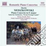 Concerto x pf op.59, da una paese strani cd musicale di Moritz Moszkowski