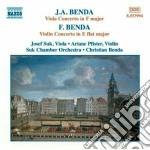 Concerto x vl in mib mag cd musicale di Frantisek Benda