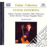 Guitar favourites, brani di: albeniz, mo cd musicale