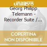 Recorder suite in a minor cd musicale di G.p. Telemann