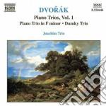 Trii con pf (integrale) vol.1: trio op.9 cd musicale di Antonin Dvorak