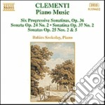 Musica x pf: 6 sonatine progressive op.3 cd musicale di Muzio Clementi