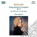 Quartetti x archi vol.7 (integrale): qua cd musicale di Wolfgang Amadeus Mozart