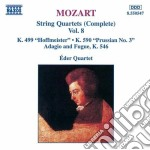 Quartetti x archi vol.8 (integrale): qua cd musicale di Wolfgang Amadeus Mozart