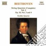Quartetti x archi (integrale) vol.2: qua cd musicale di Beethoven ludwig van
