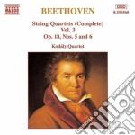 Quartetti x archi (integrale) vol.3: qua cd musicale di Beethoven ludwig van