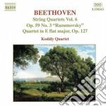 Quartetti per archi (integrale) vol.6: q cd musicale di Beethoven ludwig van