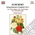 Quartetti x archi (integrale) vol.3: qua cd musicale di Franz Schubert