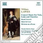 Lawes-consort music for viols cd musicale di ARTISTI VARI