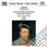 Consort and keyboard 09 cd musicale di GIBBONS