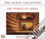 The world of opera cd musicale