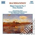 Concerto x pf n.3 op.30, principe rostis cd musicale di Sergei Rachmaninov