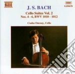 Suite per violoncello, vol.2. nn.4-6 bwv cd musicale di Johann Sebastian Bach