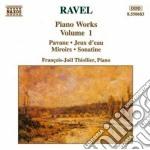 Opere x pf (integrale) vol.1: pavane, je cd musicale di Maurice Ravel