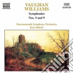 Sinfonia n.5, n.9 cd musicale di Vaughan williams ral