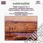 Concerto x vl n.3 op.61, introduzione e cd musicale di Camille Saint-saËns