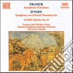 French music for piano & orchestra cd musicale di De almeida antonio