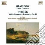 Concerto x vl op.53, romanza x vl e orch cd musicale di Antonin Dvorak