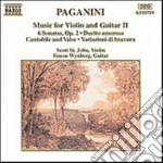 Composizioni x vl e chit vol.2: sonata x cd musicale di Niccolo' Paganini