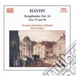 Symphonies nos 97 & 98 cd musicale di Bela Drahos