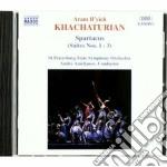 Spartacus (suite nn.1-3) cd musicale di Aram Khachaturian
