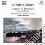 Sinfonia n.1, caprice bohemienn cd musicale di Sergei Rachmaninov