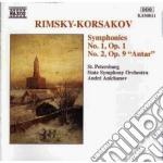Sinfonia n.1 op.1, n.2 op.9
