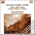 Composizioni di britten, holst, delius, cd musicale