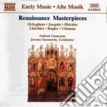 Capolavori corali: composizioni di ockeg cd musicale